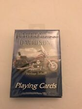 Playing Cards -Harley DavidsonSealed New Old Stock Poker Size US Playing Co