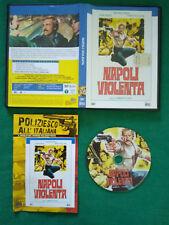 DVD Film Ita Poliziesco NAPOLI VIOLENTA maurizio merli john saxon no vhs(DV1)