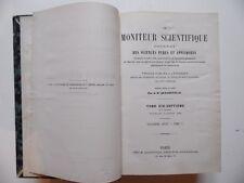 Le Moniteur Scientifique/Journal Sciences Pures et Appliquées/Quesneville/1875