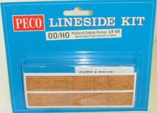 Peco 00 LK-66 Platform Ramp Edging - Brick (00) Model Railway