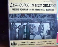 """Freddie Kohlman 10"""" Jazz Solos In New Orleans"""