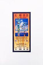 Super Bowl XXV Replica Ticket  Frame Ready Buffalo Bills vs New York Giants