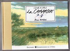 BRUCE PEARSON LA CAMARGUE 1997 AQUARELLES ESQUISSES PEINTRE NATURALISTE