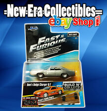 Fast and Furious Series Doms Dodge Charger R/T Brian's Toyota Supra Jada 1:64