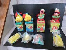 McDonald Little Mermaid Disney lot Eric Sebastian Flounder ornament happy meal