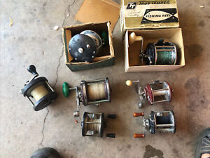 VINTAGE PENN SALTWATER FISHING REEL Lot And Others All Work