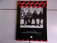 songbook U2 how to dismantle an atomic bomb 2004 guitar tab  et standard notatio