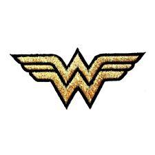 Wonder Women Superhero Golden Symbol Logo DC Comic Cartoon Movie Iron on Patch