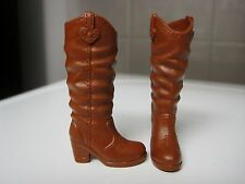 BARBIE DOLL CLOTHES/SHOES *MATTEL TALL WESTERN BOOTS   *NEW*  #1800