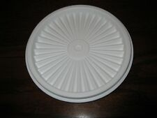 """TUPPERWARE ~ REPLACEMENT LID / SEAL ~ 5"""" SERVALIER INSTANT SEAL #812 ~ WHITE"""