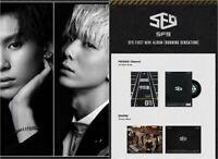 SF9: BURNING SENSATION* (CD, Loen) Poster Full Package 1st Mini Album K-POP
