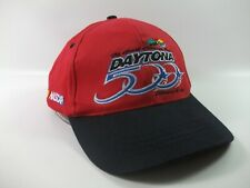 Daytona 500 2001 Nascar Race Hat Red Black Snapback Baseball Cap