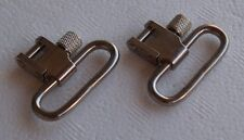 "Nickel Silver Rifle Sling Swivels - Quick Detach - 1-1/4"" Width - Steel - S-4023"