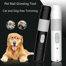 Electric Pet Nail Grinder Pet Dog Nail Trimmer Pet Paws Clipper Adjusting Speed