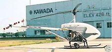 RoboCopter Kawada Helicopter Mahogany Wood Model Large New