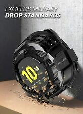 SUPCASE Rugged Case Smart Watch Strap Band For Samsung Galaxy Watch Active2 44mm