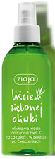 Ziaja 00370 leaves green olives tonic water with vitamin C spray - 200 ml