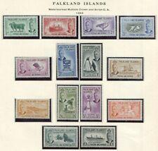 FALKLAND ISLANDS  107 - 120  Beautiful Mint  Set  GEORGE VI  AG
