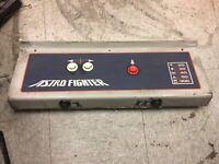 Astro Fighter Video Arcade game control panel, Sega/Gremlin 1979