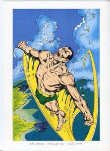 Namor Submariner John Byrne 1991  French Print Marvel Rare