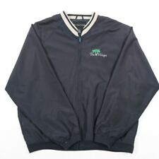 90s de colección chaqueta de bombardero | Para Hombre L | Retro Harrington Golf Zip