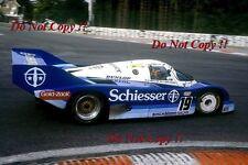 Stefan Bellof Brun Motorsport Porsche 956B Spa 1000 Km's 1985 Photograph 2