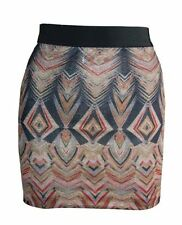 Short/Mini Stretch, Bodycon Synthetic Skirts for Women