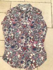 Liberty Of London for Target Ladies Tunic Blouse Shirt sz medium  VGC