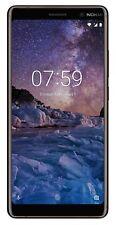 "Nokia 7 Plus 64GB 4GB Dual Sim 6"" Android OctaCore TA-1062 NEU- Schwarz Kupfer"