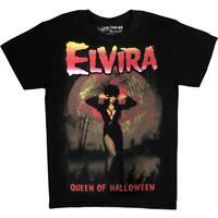 Kreepsville 666 Elvira Mistress of the Dark Halloween Queen Gothic T Shirt MTEHQ