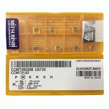 H●MITSUBISHI  CCMT060208 US735 Carbide Inserts CNC.