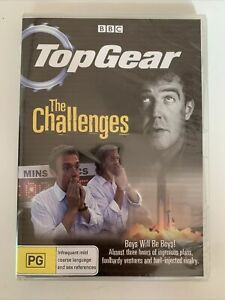 *New Sealed* Top Gear - The Challenges (DVD) Jeremy Clarkson. Region 4