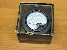 Simpson electric US Navy Decibels meter.  Model 145