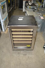 "U-Line U1224Wcs 24"" Stainless Built-In Compact Wine Storage Nob #17073"