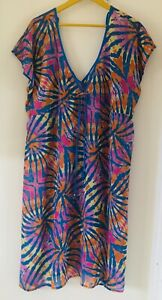 Fabulous Marks and Spencer Beach Cover-Up Kaftan - Size XL