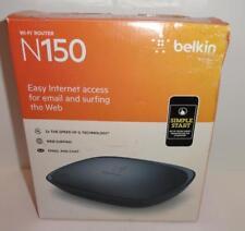 Belkin N150 150 Mbps 4-Port 10/100 Wireless N Router (F9K1001)