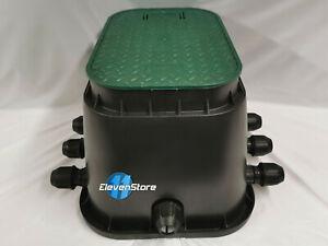 Hunter PGV Magnetventile Bewässerung Ventilbox Verteiler 6 Stationen Ventilkaste