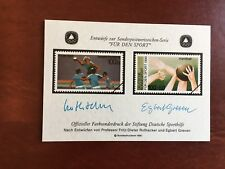 GERMANY 1990 MNH SOUVENIR SHEET FUR DEN SPORT HANDBALL