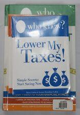 Who Knew? The Money Diet 4-piece Complete Money Saving Book Set Bruce Lubin  B-3