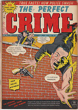 Perfect Crime,The #6 Golden-Age Pre-Code Crime 1950 Cross Publications