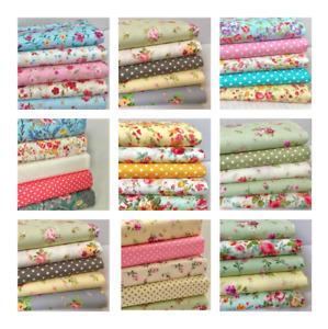100% Cotton Fabric Jelly Rolls, Dessert Rolls & Layer Cakes & Patchwork