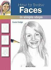 How to Draw Faces in Simple Steps (Paperback or Softback)