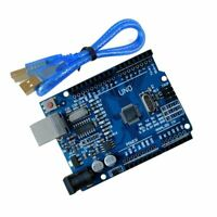 Arduino UNO CH340 ATmega328p Development Board with USB Cable - Compatible