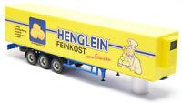 Herpa - LKW Kühl Auflieger Trailer Anhänger Henglein Feinkost Abenberg 1:87 H0