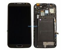 For Samsung Galaxy Note 2 N7100 LCD Display Touch Screen+Frame grey+cover+tool