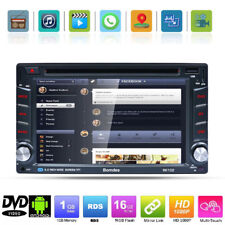"2Din 6.2"" HD DVD Autoradio Android GPS Navigatore Bluetooth Stereo WIFI USB RDS"