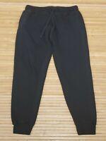 Fashion Nova Man Black Capri Sweatpants Mens Size Medium M