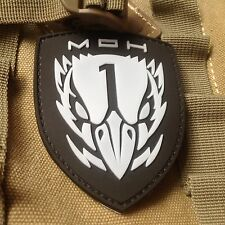 Medal of Honor : MOH Blackbird PVC 3D Rubber Army Patch Glow in the dark