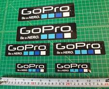 6x Gopro Hero 2 3+ STICKERS Go Pro Accessories Car Motorcycle Decals waterproof