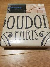 Boudoir Paris Double Printed Duvet Set Cover & 2 Pillowcases
